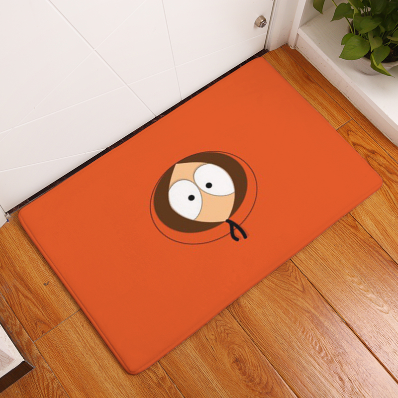 2017 New Home Decor Funny Cartoon Characters Expres Carpets Non-slip Kitchen Rugs for Home Living Room Floor Mats 40X60 50X80cm