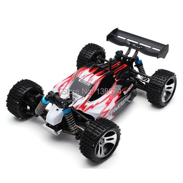 Wltoys A959 Rc Araba 1/18 2.4Gh 4WD Off-Road Buggy