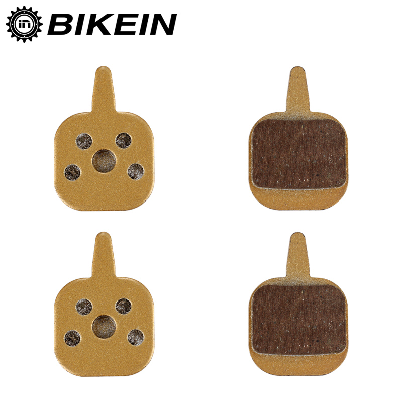 BIKEIN 2 Pairs Mountain Bike Metallic Disc Brake Pads For Tektro IO Cycling Bicycle Hydraulic Disc Brake Pad MTB Bikes Parts
