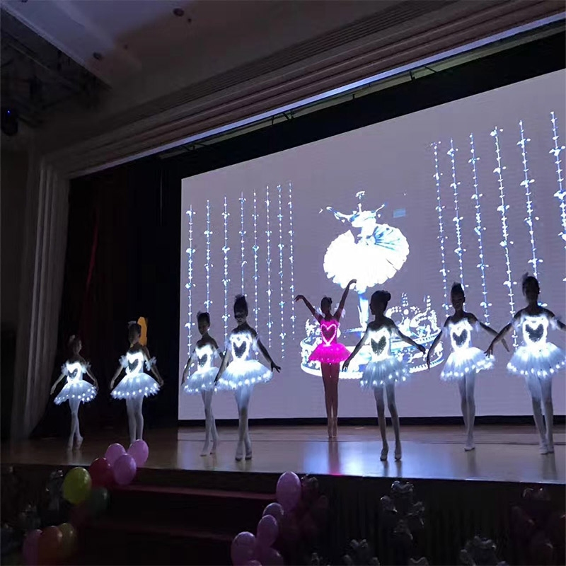 adult Luminescence professional Ballet tutu skirt children Performance Led Dance Skirt Fluorescence Dance Clothing for children