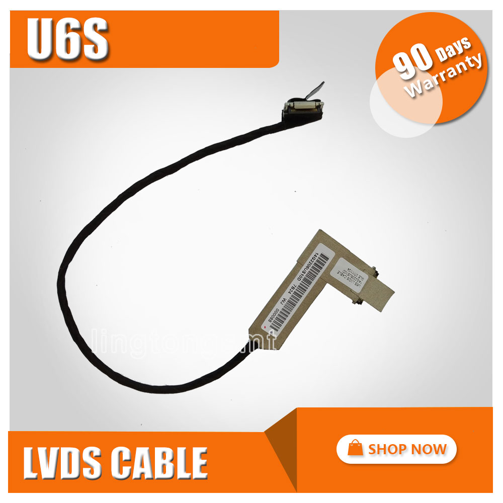 Asus VX3 U6S U6E U6SG 14G2206US10D Laptop LED LVDS LCD Video Flex Kablo Ekran